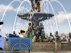 Place de la Concorde, fontana dei fiumi