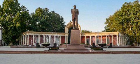 Monumento a Heydar Aliyev a Ganja