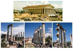 Aphrodisias: il tempio di Afrodite