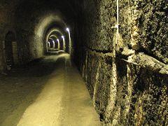 Guvano, il tunnel pedonale