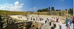 Jerash: il colonnato