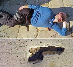 Leptis Magna: simbolo fallico