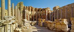 Leptis Magna: la basilica