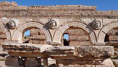 Archi con Gorgoni al foro romano