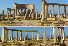 Leptis Magna: mercato
