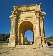 Leptis Magna: arco di Settimio Severo