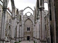 Baixa - chiesa del Carmo
