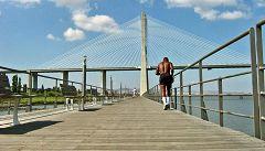 Parque do Tejos - passeggiata