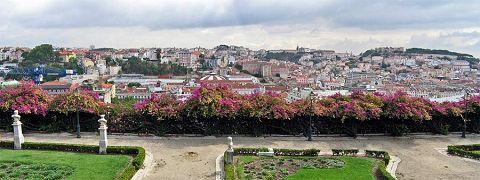 Alfama: vista dal castello di São Jorge