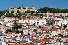 Alfama: castello di São Jorge
