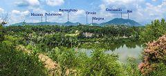 Baggero: oasi - vista sui monti