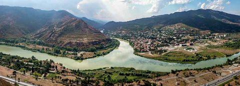 Vista da Mtscheta