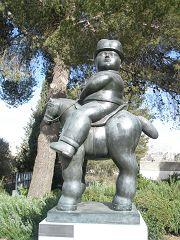 Fernando Botero: Uomo a cavallo