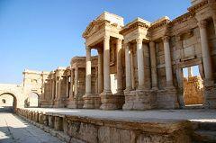 Palmira: il teatro Romano