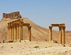 Palmira: castello arabo