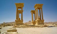Palmira: tetrapylon