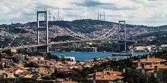 Ponte sul Bosforo a Istanbul