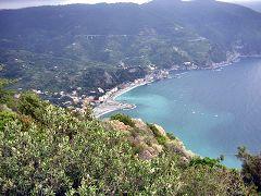 Monterosso, vista da Punta Mesco