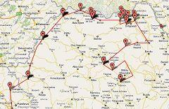 Viaggio motociclistico in Romania