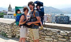 Foto di famiglia a San Fiorenzo