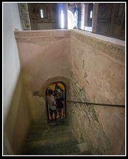 Scaletta per la cripta