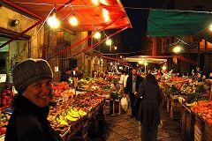 Palermo: mercato del Capo