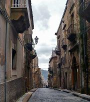 Piazza Armerina: una via