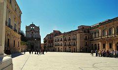 Siracusa: piazza del Duomo