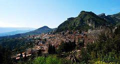 Taormina: vista