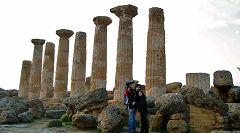 Valle dei Templi: tempio di Eracle (Ercole)