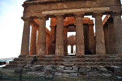 Agrigento:, Valle dei Templi: tempio della Concordia