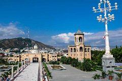 Il campanile della cattedrale di Tbilisi