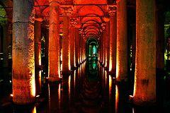 Istanbul: cisterna-basilica