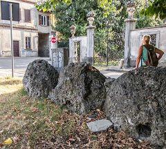 Villa Romanò: macine