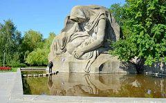 Volgograd: madre addolorata