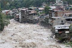 Aguas Calientes, l'alluvione del gennaio 2010