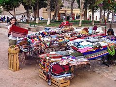 Purmamarca: mercato