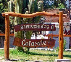 Bienvenidos a Cafayate