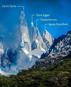 Cerro Torre e Aguja Standhart
