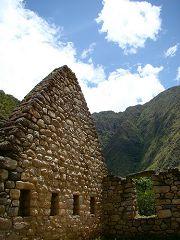 I resti di Chachabamba