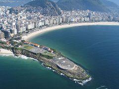 Arpoador e Forte di Copacabana
