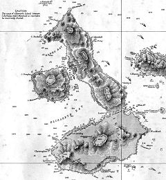 Mappa di Albemarle