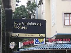 Rua Vinicius de Moraes