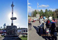 Slatoust: confine Europa-Asia