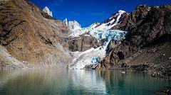 Laguna e Glaciar Piedras Blancas