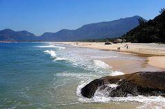 La spiaggia di Grumari