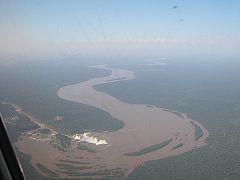 Il fiume Iguassù (Iguacu)