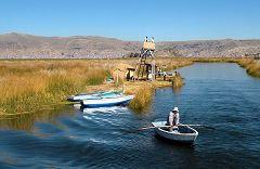 Titicaca: isola degli Uros