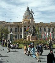 La Paz: palazzo del governo