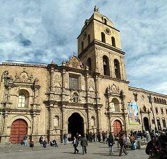 La Paz: Iglesia de San Francisco